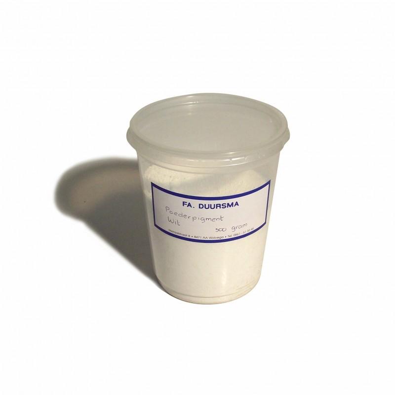 Pigment Poeder Wit - 500 gr
