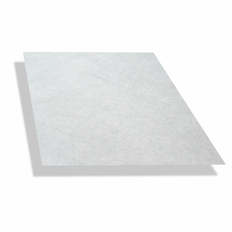 Polyesterplaat wit 1.5 mm dik - 1 x 2,5mtr