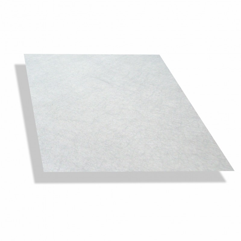 Polyesterplaat wit 1.5 mm dik - 2 x 2,5 mtr