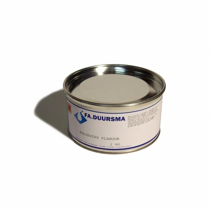 Polyesterplamuur /n 2 kg. incl. verharder
