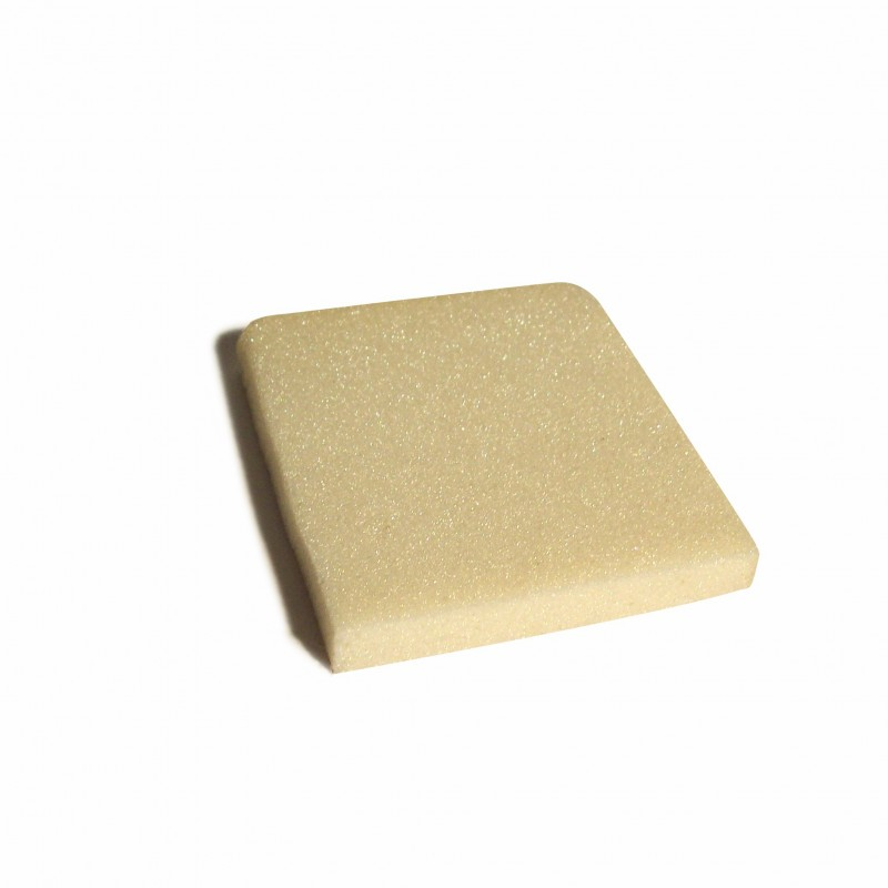 P.U.plaat 1 cm dik - 1.25 x 1.25 mtr - 50 platen.
