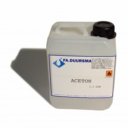 aceton 2.5ltr