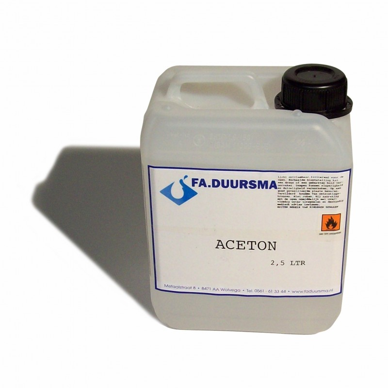 Aceton- reiniger CZ - 2.5 ltr