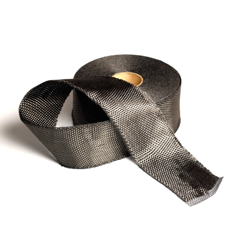 Koolstofband 7.5 cm.br. 250 gr/m² - 50 mtr