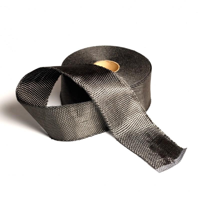 Koolstofband 7.5 cm.br. 250 gr/m² - 20 mtr