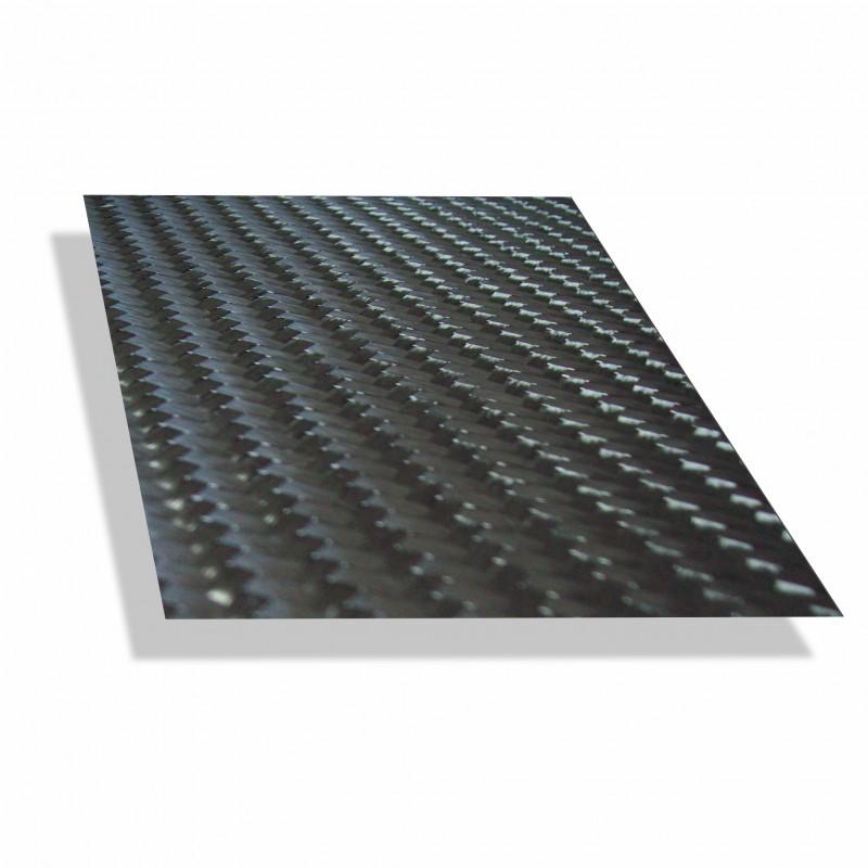 Carbonweefsel keper /n 200 gr/m²  - 50 m²