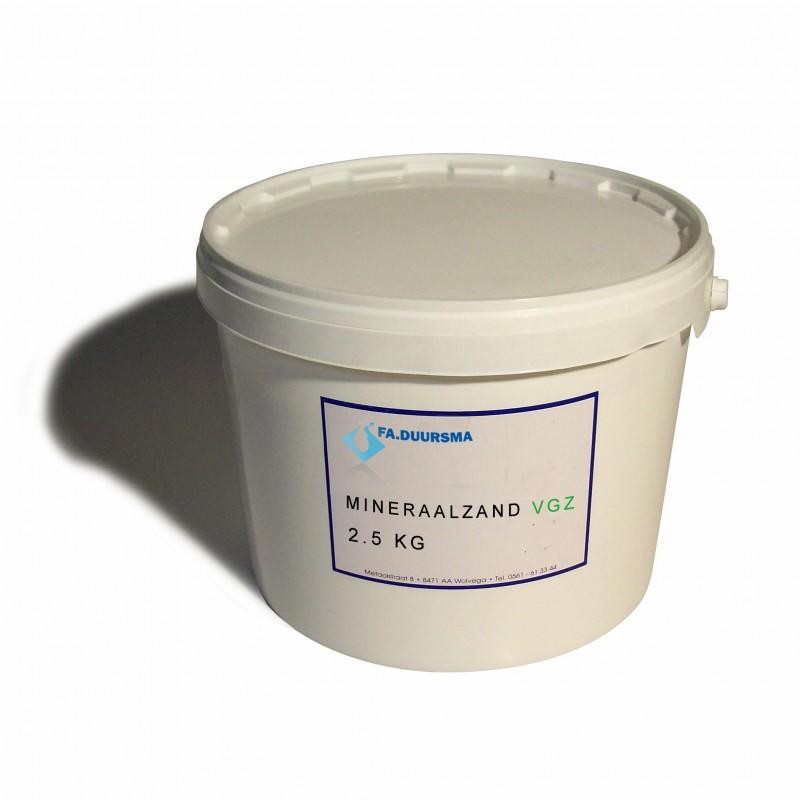 Mineraalzand vgz - 2.5 kg
