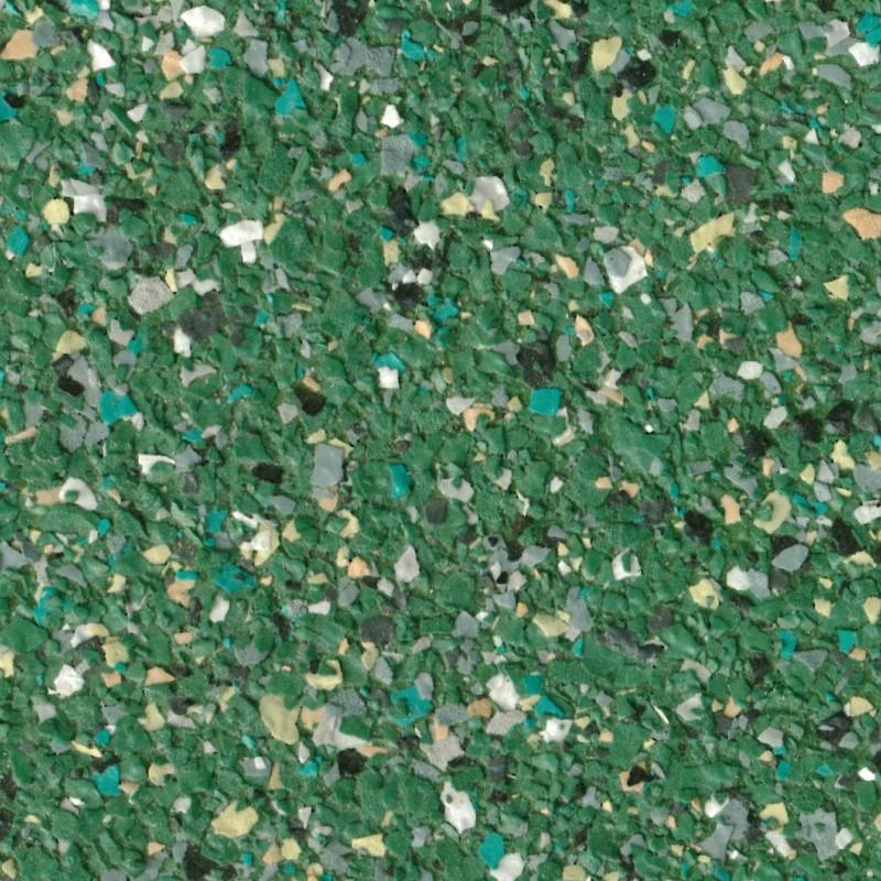 Siervloervlokken/chips - smaragd - 25 kg