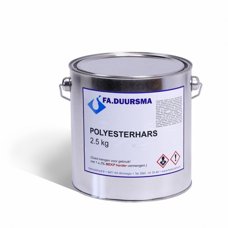 polyesterhars - VTH -/n 2.5 kg