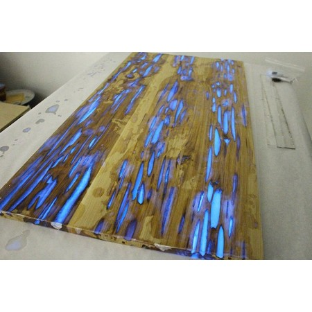 Glow in the dark / blauw- 150 gr