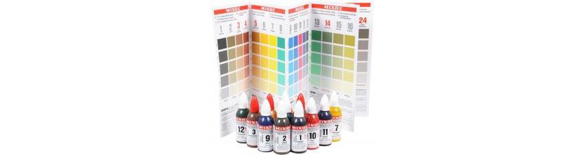 Mixol universeel pigment, voor al uw kunstharsprojecten.