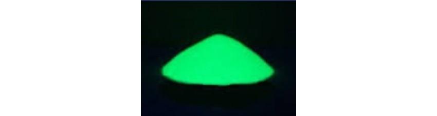 Glow in the dark-pigment, laad snel op, lange en sterke nagloei!